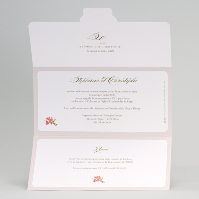 Invitation mariage champêtre (106.068)
