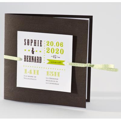 Carte chocolat pistache  (106.098)