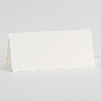 Marque-place blanc irisé neutre  (221.002)