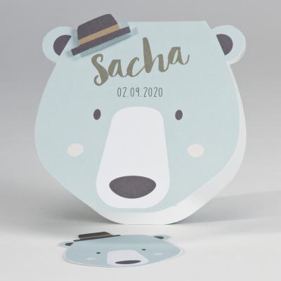 Tête d'ours et chapeau (507.061)