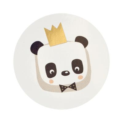 Timbre de scellage panda couronné (577.104)