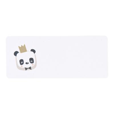 Etiquette adresse panda couronné (577.204)