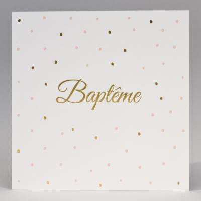 Carte baptême fillette  (577.350)