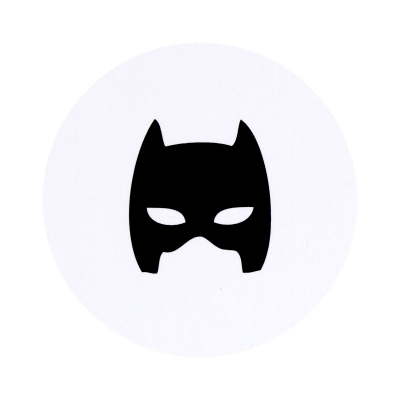 Timbre de scellage motif masque de Batman  (579.117)