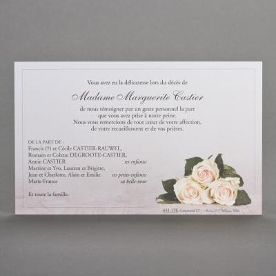 Mini bouquet de roses saumonées (641.158)