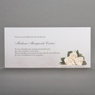Carte longue trio de roses  (644.158)