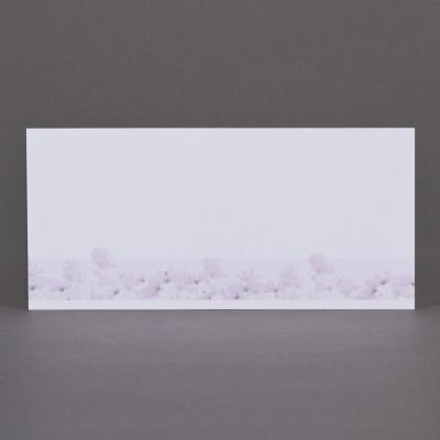 Carte longue fleurs des champs - coupon de 3 (645.169)