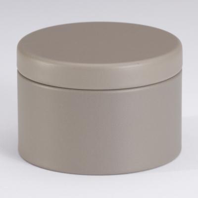 Jolie boîte métallique taupe (781.103)
