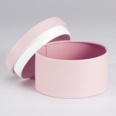 Elégante boîte métallique rose (781.105)