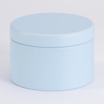 Charmante boîte métallique bleue (781.107)