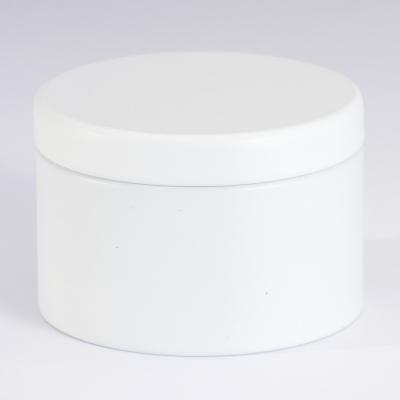 Jolie boîte métallique blanche (781.108)