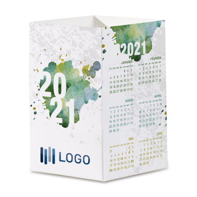 Carte de vœux professionnelle pot à crayons 2021 (840.110)