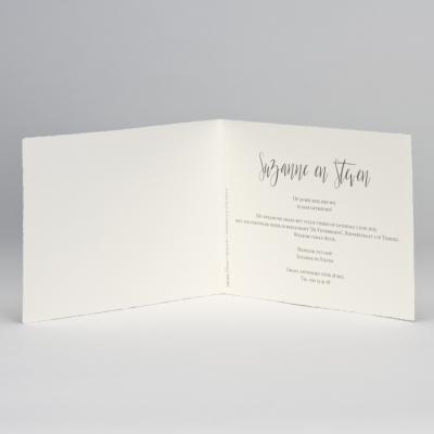 Jubileumkaart met zilveren blaadjes (108.306)
