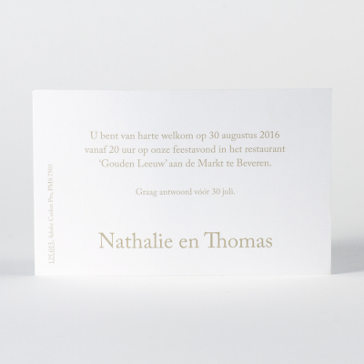 Uitnodigingskaartje blanco (125.015)