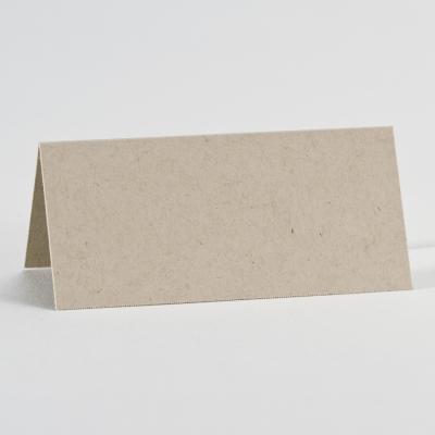 Bruin tafelkaartje met eco-touch (313.557)
