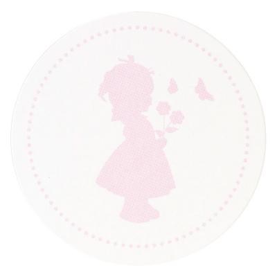 Sluitzegel roze meisje (574.107)