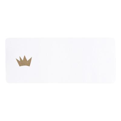 Adresetiket gouden kroon (576.201)