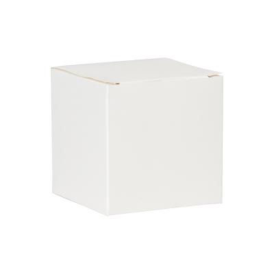 Witte blanco kubus met plat deksel (712.002)
