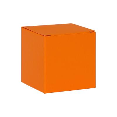 Blanco oranje kubus met plat deksel (719.005)