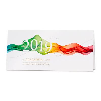 Nieuwjaarskaart A Colourful Year (848.034)